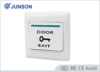 چین Access Control Exit Push Button , Hotel Plastic Door Exit Button تامین کننده